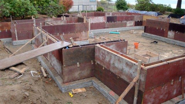 Foundation Wall Formwork