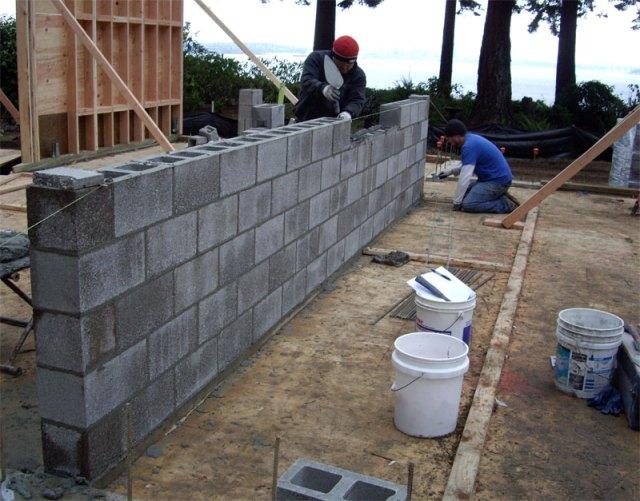 Concrete Masonry Under Construction