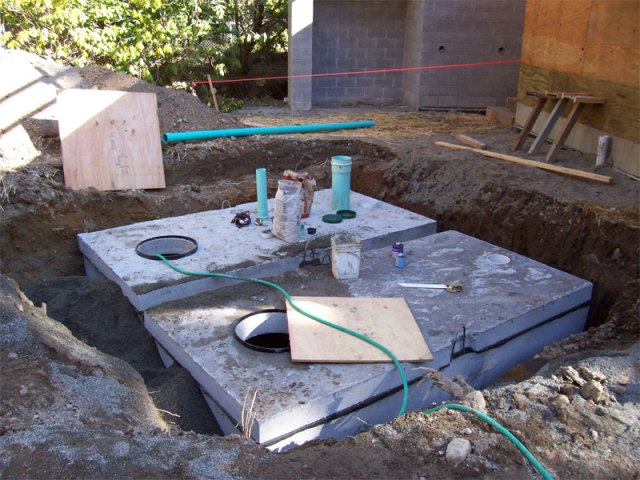 Two 1500 Gallon Cisterns