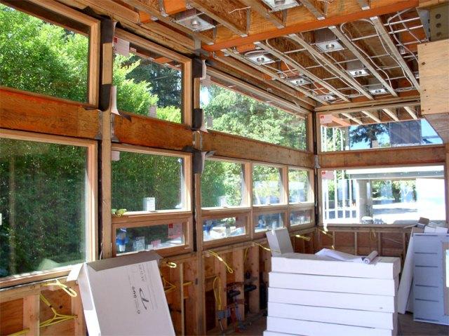 Fir Windows on the Interior