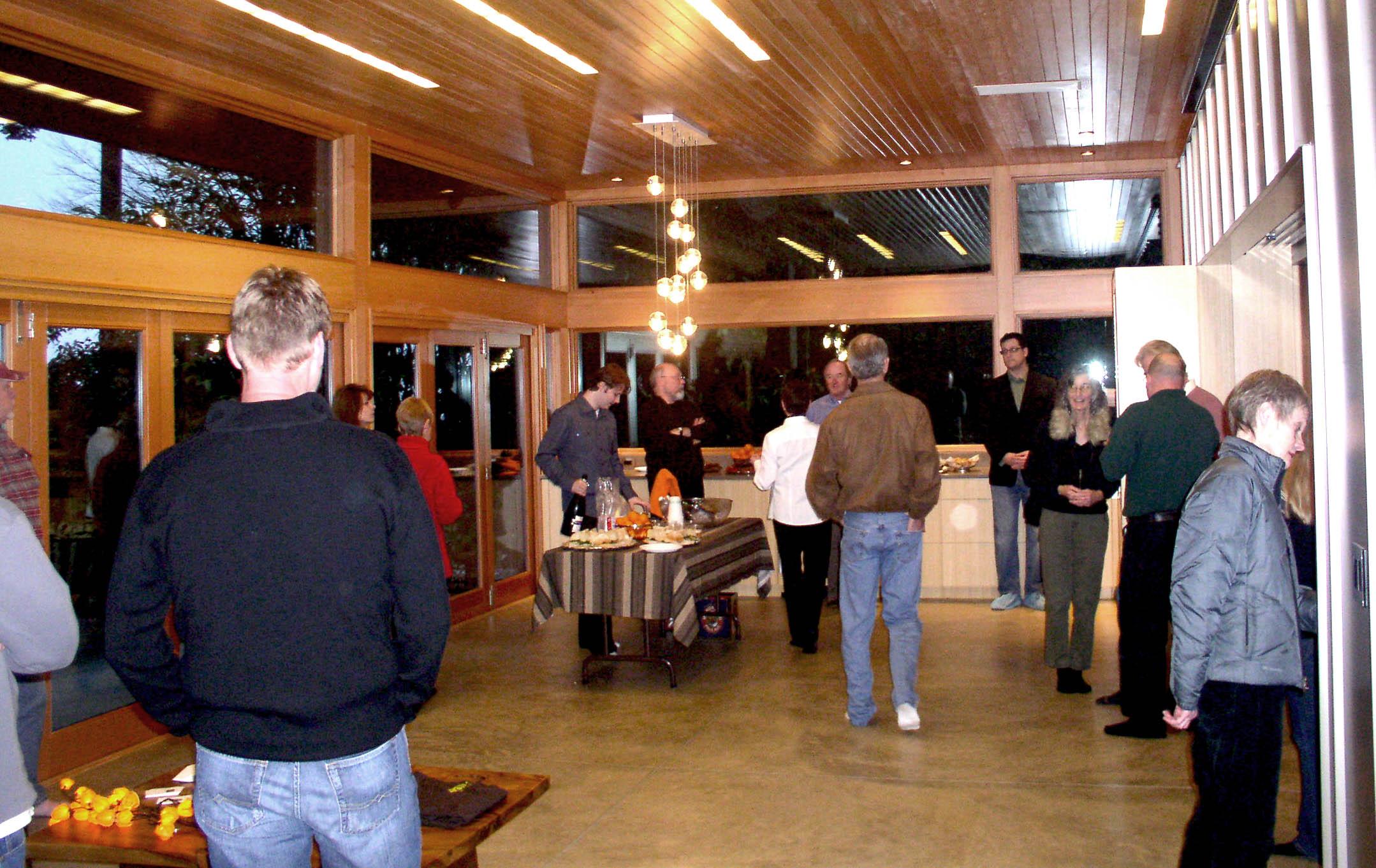 Coates Design Seattle Ellis Residence Leed Platinum Design Open House